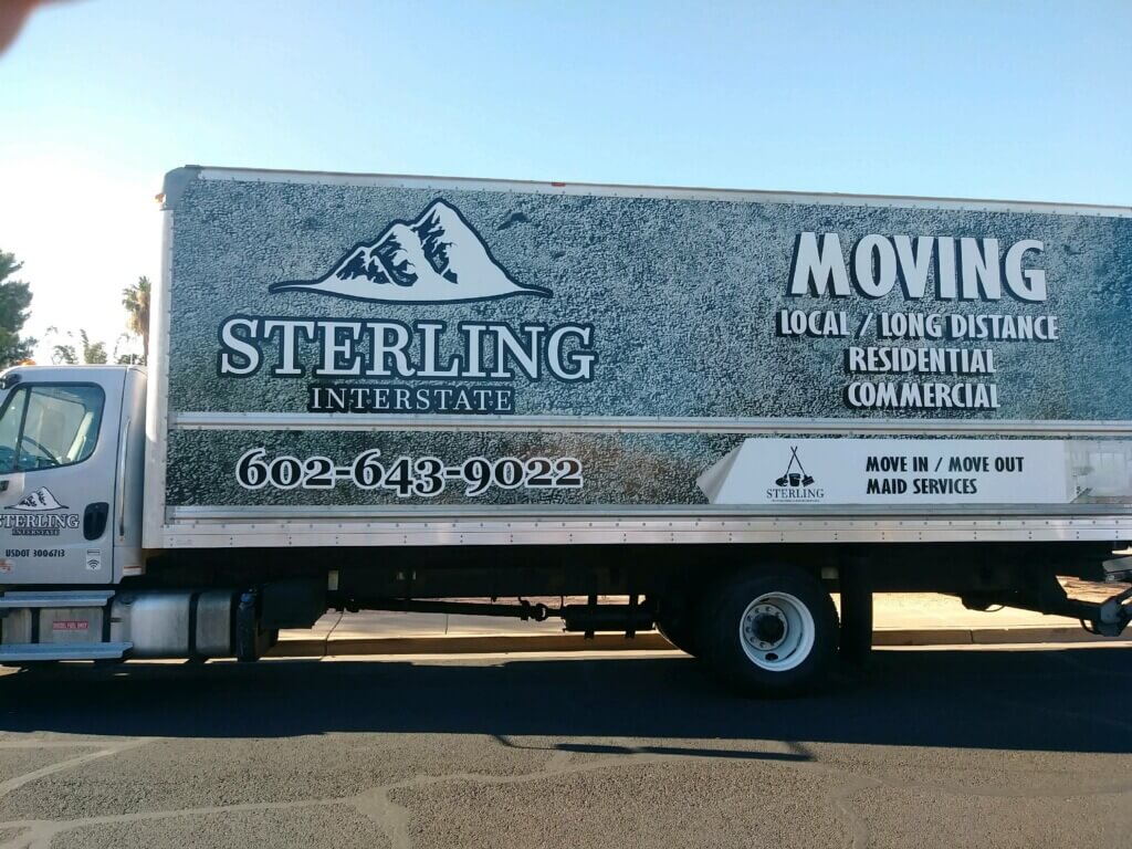 Sterling Interstate Moving Truck