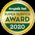 Angie's List Super Service Award 2020