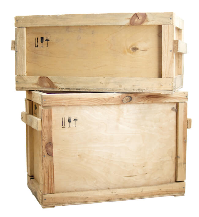 custom moving crates